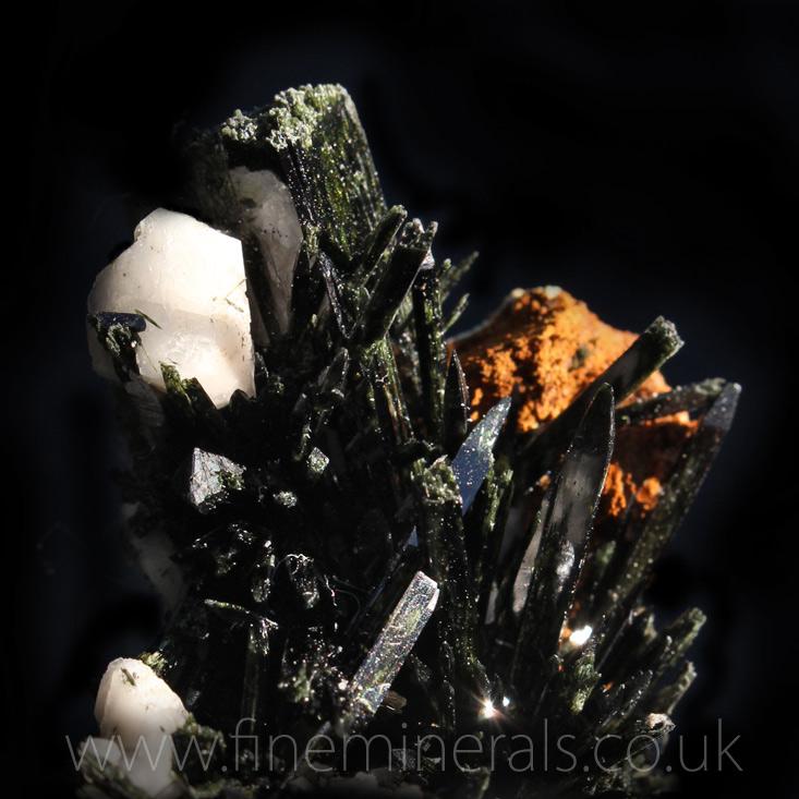 Aegirine w Calcite