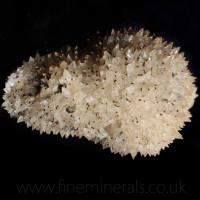 Calcite w Chalcopyrite
