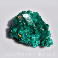 Dioptase Cluster