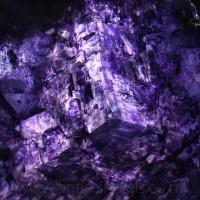 Fluorite w Hematite inclusions