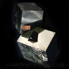 Pyrite - extremely large twin